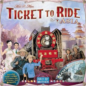 Ticket to Ride Map Collection: Volume 1 (Asia)