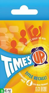 Time's Up! Title Recall! Expansion 4