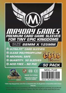 Tiny Epic Card Sleeves PREMIUM