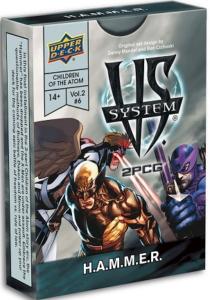 Vs. System 2PCG: Marvel Children of the Atom - H.A.M.M.E.R.