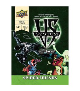 Vs. System 2PCG: Spider Friends
