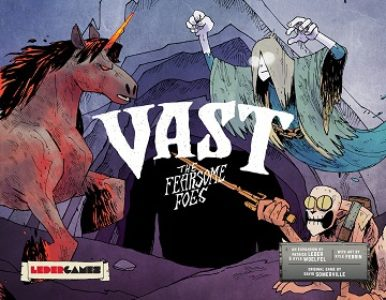 Vast: the Crystal Caverns: the FEARSOME FOES