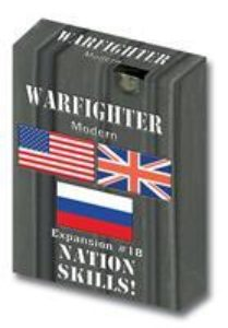 Warfighter Modern - Expansion #18 Combo Soldiers with Nation Skills
