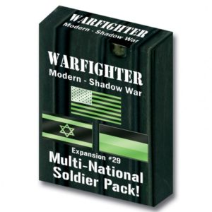 Warfighter: The Modern Night Combat Card Game – Shadow War: Multi-Soldiers