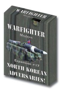 Warfighter: Expansion #17 – North Korean Adversaries