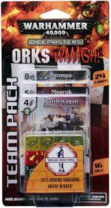 Warhammer 40,000 Dice Masters: Orks – WAAAGH! Team Pack