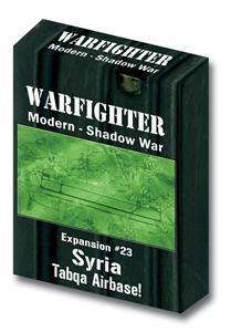 Warfighter Modern Shadow War- Expansion #23 Syria Tabqa Airbase