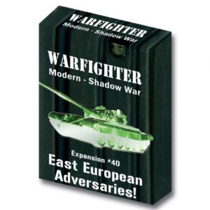 Warfighter: The Modern Night Combat Card Game – Shadow War: East European Adversaries