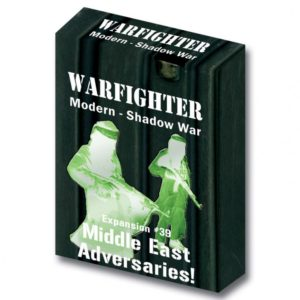 Warfighter: The Modern Night Combat Card Game – Shadow War: Middle East Adversaries