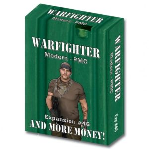 Warfighter: The Private Military Contractor Card Game: And More Money!