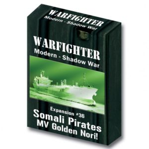 Warfighter: The Modern Night Combat Card Game – Shadow War: Somali Pirates