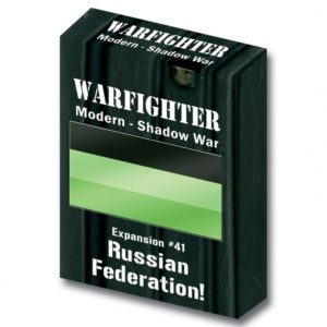 Warfighter: The Modern Night Combat Card Game – Shadow War: Russian Federation!