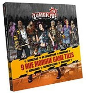 Zombicide: Rue Morgue Tile Pack (deleted title)